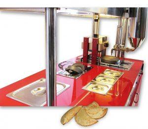دستگاه پیراشکی زن 2 و شمای کامل آن: تجهیزات فست فود روبوفود