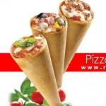 انواع پیتزا قیفی 2 توسط تجهیزات فست فود روبوفود