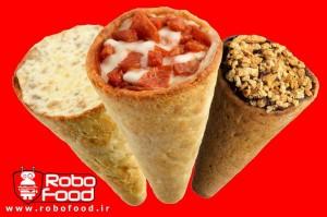 انواع پیتزا قیفی 2: تجهیزات فست فود روبوفود