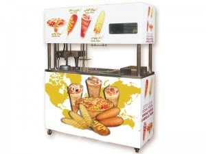 دستگاه ۴منظوره اتوماتیک(پیتزا قیفی وچتری-کورن داگ-فرچیپس)