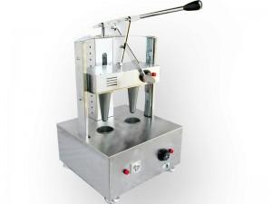 دستگاه تولید نان پیتزا قیفی 2 قالبه: تجهیزات فست فود روبوفود