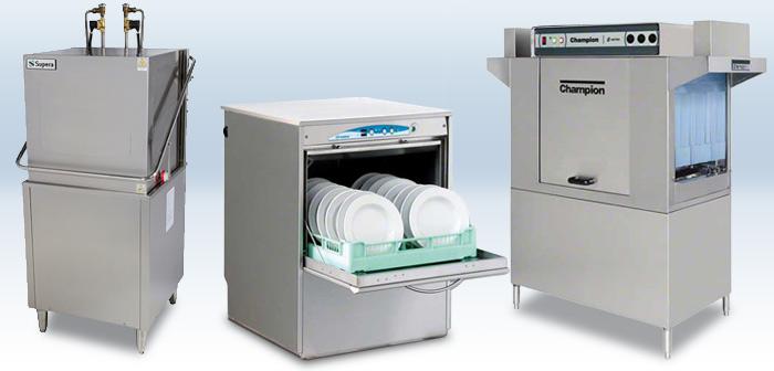 انواع ماشین های ظرف شویی تجاری