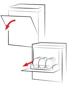 ماشین ظرف شویی زیرکابینتی