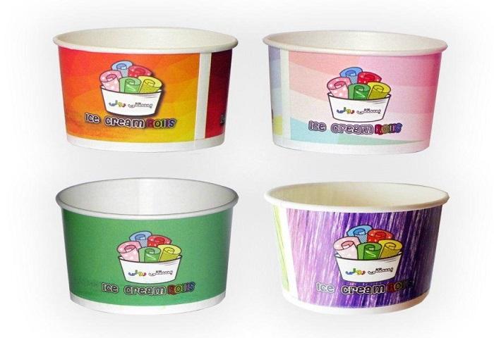 ظروف بستنی رولی