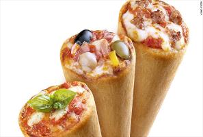 طرز تهیه پیتزا قیفی